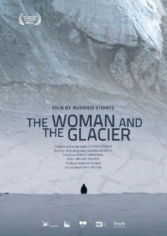 Woman and the Glacier
