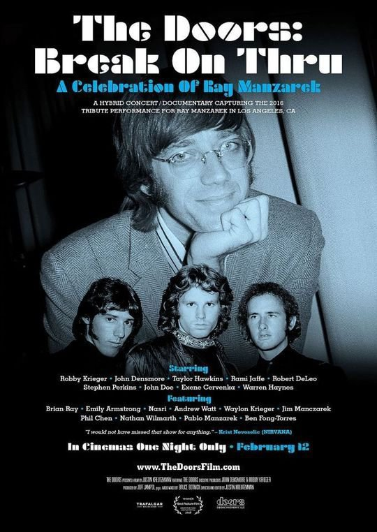 Break on Thru: A Celebration of Ray Manzarek and The Doors